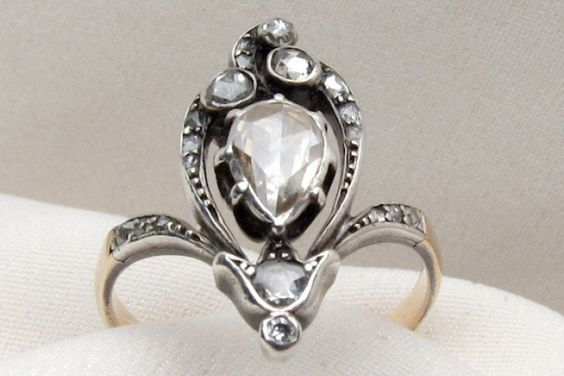 24 Of The Coolest Vintage Engagement Rings Around