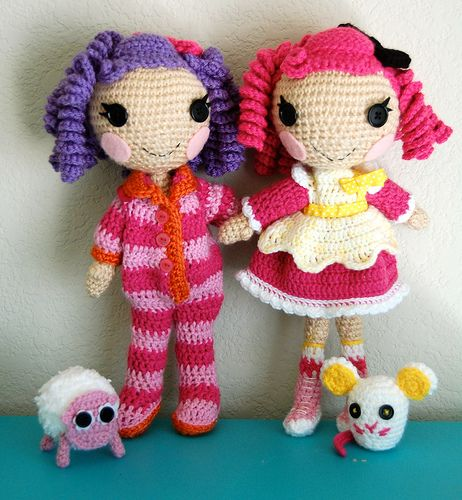 Amigurumi Lalaloopsy inspired dolls Projects to Try ...
