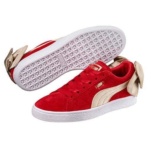 Suede bow, Puma suede, Puma suede shoes