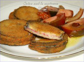 Cuina amb la mestressa: Sandwiches de berenjenas...
