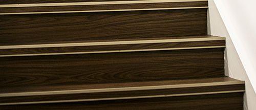 Custom Stair Nosing Vinyl Plank Stair Nosing House Flooring