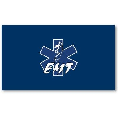 EMT Active Star of Life Business Card