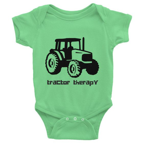Tractor Therapy Onesie