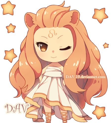 Chibi Leo By DAV 19deviantartcom On deviantART Kawaii Pinterest Lion The
