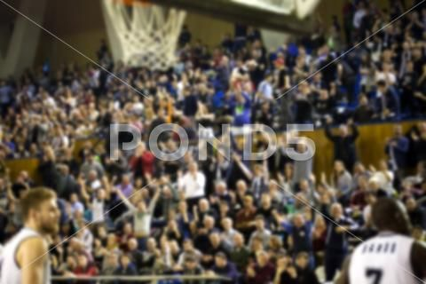 Blurred Background Of Crowd Of People In A Basketball Court Stock Photos Ad Crowd People Blurred Background Blurred Background Stock Photos Blur Photo