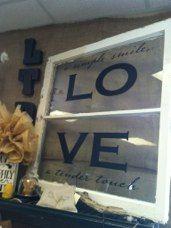 LOVE  window, www.ltd7online.com #ltd7va #salvage