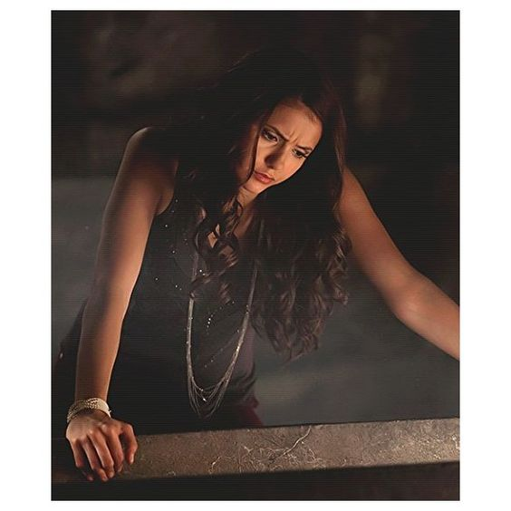 Nina Dobrev #tvd Kathrine Pierce ❤ liked on Polyvore featuring vampire diaries
