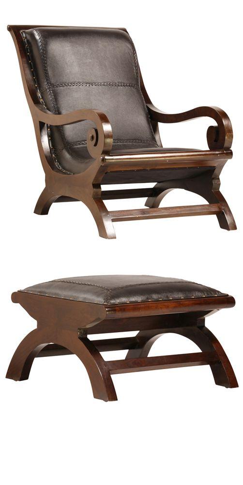 Lazy Chair + Ottoman