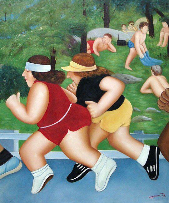 Fernando Botero ... algo sobre isso :):
