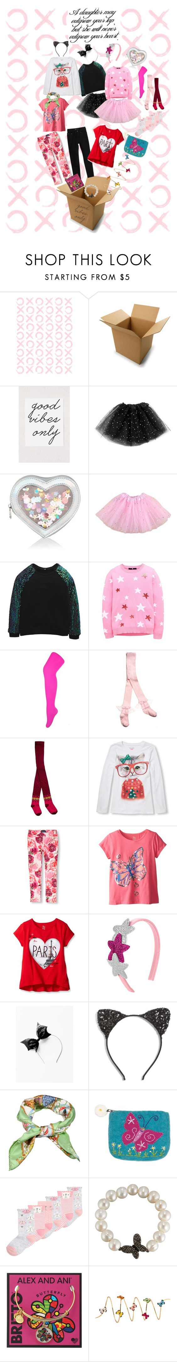 """""""Little Girls November Fashion Kit"""" by violajunerose ❤ liked on Polyvore featuring Urban Outfitters, Accessorize, Catimini, Levi's, The Children's Place, Cara, Gucci, Bavna, Alex and Ani and Christina Debs"""