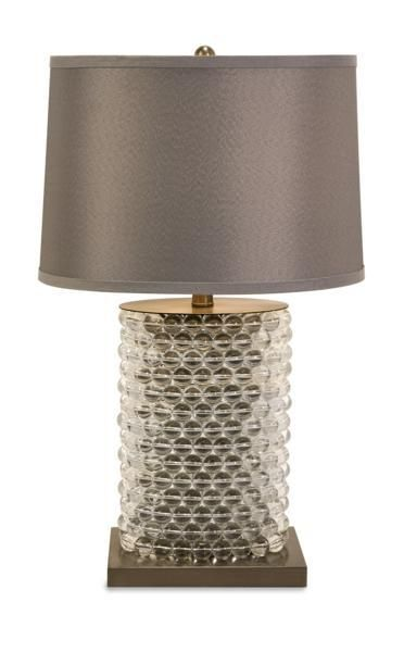 Nova Oval Beaded Lamp