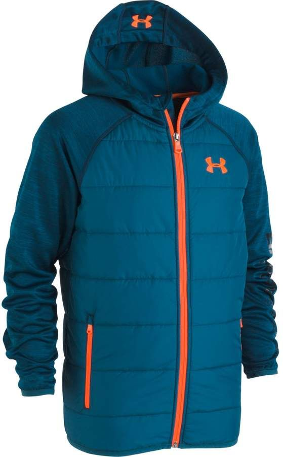 Boys' UA Day Trekker Hooded Jacket | Jackets, Hooded jacket