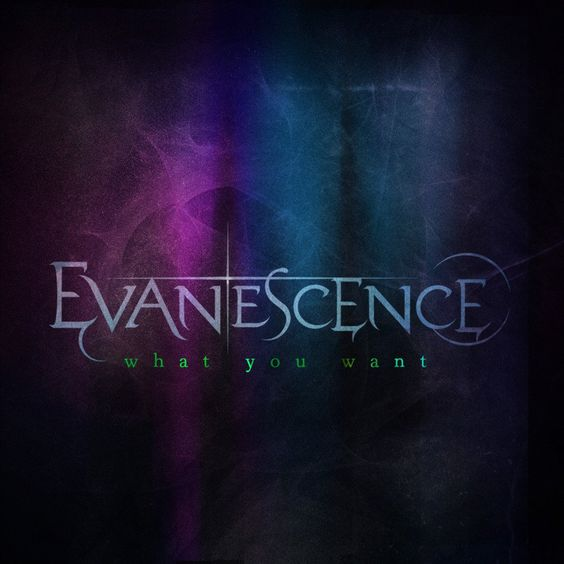 Evanescence – What You Want (single cover art)