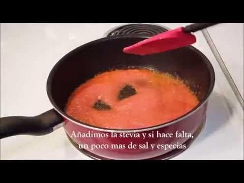 Salsa de tomate casera, rápida y saludable