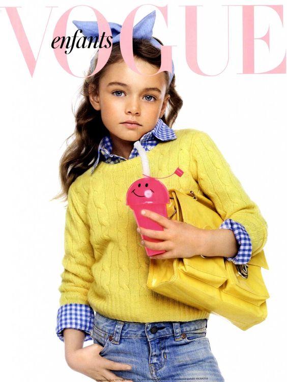 Vogue Enfants | Children's Fashion | Kid's Style | MyFDB.com