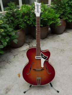 graubner rex 50er jahre vintage ddr schlaggitarre e gitarre in k ln lindenthal. Black Bedroom Furniture Sets. Home Design Ideas