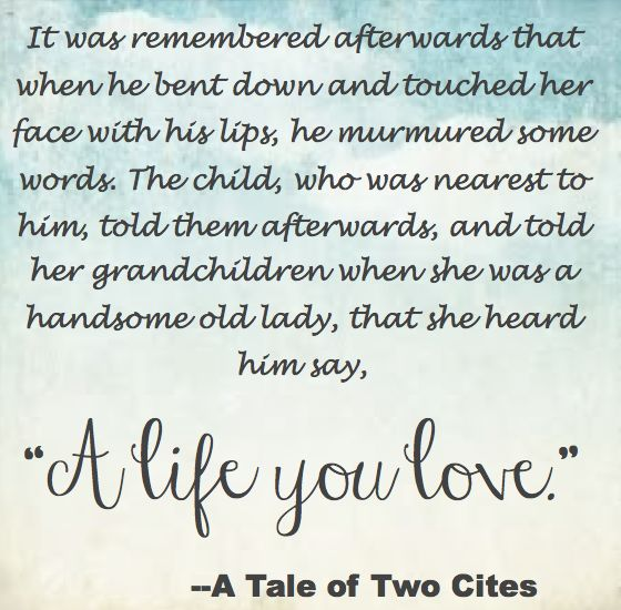 Need help on A Tale of Two Cities!?