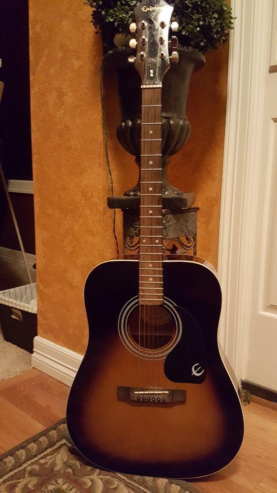 Guitar Epiphone Dr 100 Vs Acoustic Guitar Dr100 Vintage Sunburst Please Retweet Epiphone Acoustic Guitar Guitar