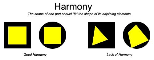 Principles Of Design Unity Harmony Examples Of Good