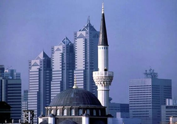 Mosque in Tokyo, the biggest in Japan