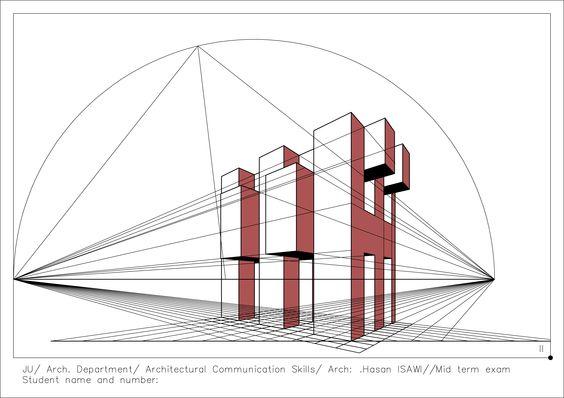 معطيات الامتحان النهائي لمادة مهارات اتصال معماري: