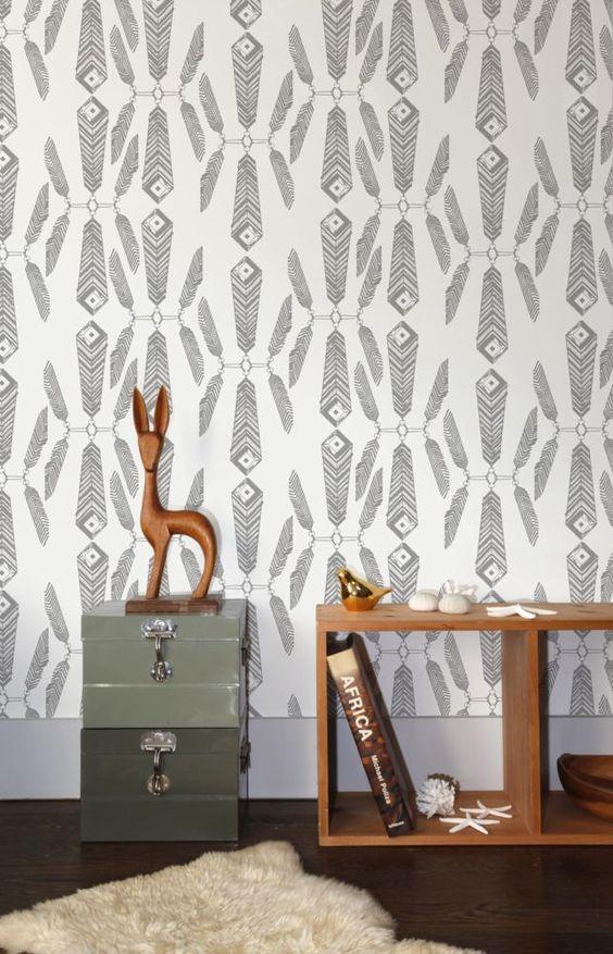 Indian Summer Wallpaper - Aimee Wilder - domino.com