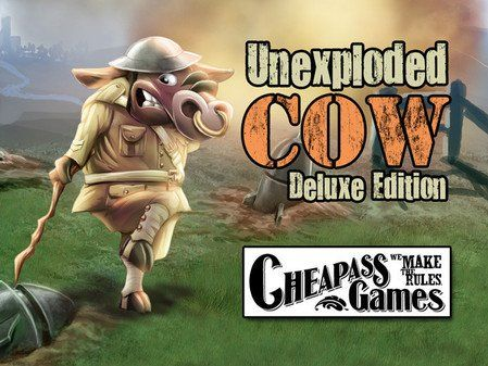 Unexploded Cow (Deluxe Edition) Cheapass Games