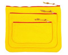 Zip Pouch - Yellow
