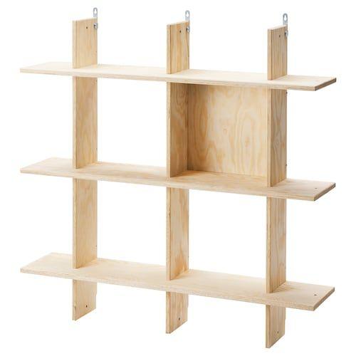 Lack Wall Shelf Unit White 11 3 4x74 3 4 The Unit Hand Crafted Furniture Shelf Unit