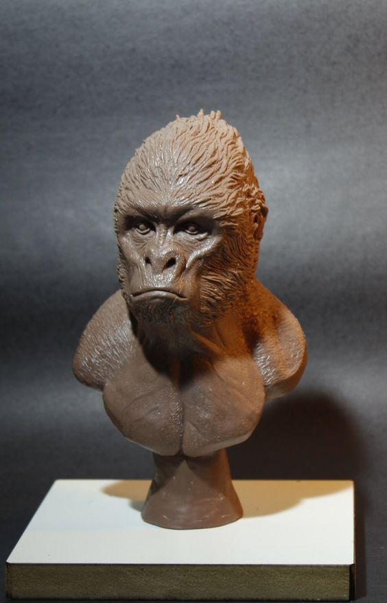 ArtStation - Gorilla, Daniel Marcondes