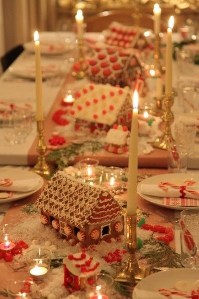 images christmas tablescape | tablescapes | christmas