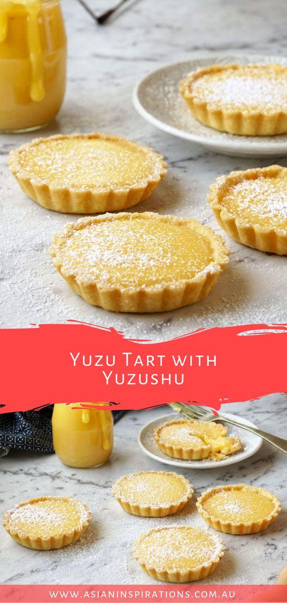 Yuzu Tart with Yuzushu