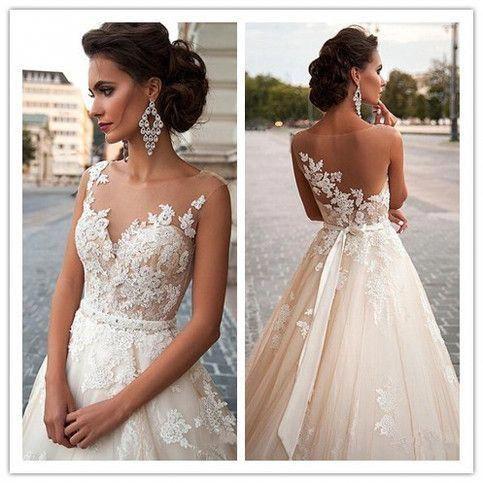 Wedding Dress Wedding Gown Long Sleeves Wedding Dress Lace Wedding