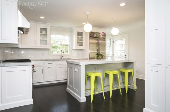 Custom kitchen cabinets designed by justin sachs of for Best paint sheen for kitchen cabinets