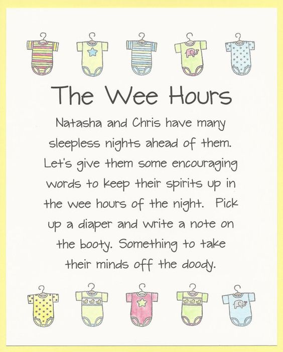 Baby Shower Game Sign