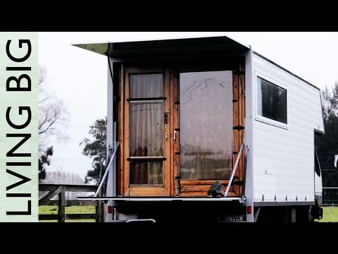 Jay Austins Beautiful Illegal Tiny House YouTube Love love