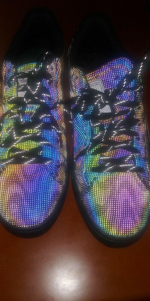 puma basket rainbow