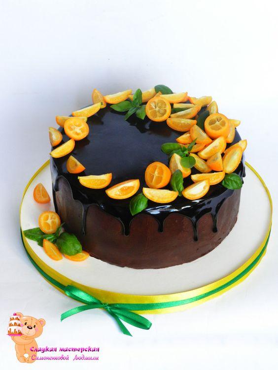 украшение торта картинки