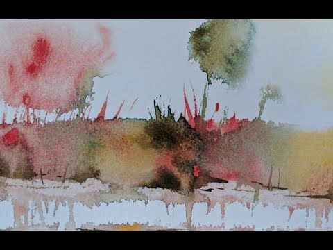 Abstract Watercolor Ideas Youtube Abstract Watercolor