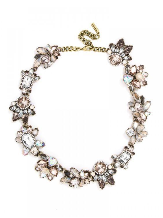 Flora Collar | statement necklace | Bauble Bar