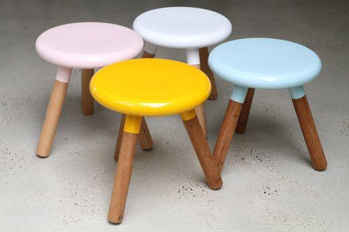 spun milk stools from lifespacejourney