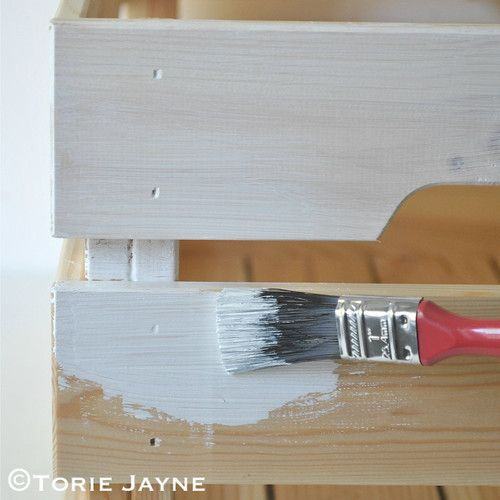 Paint Knagglig Box With Primer Paint 1 Mobel Aus Paletten Bar