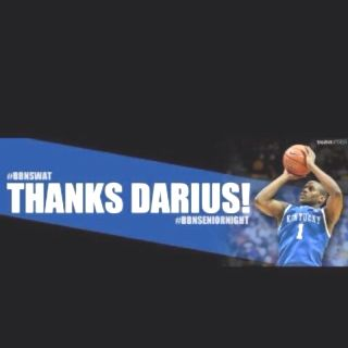 Thanks Darius! These last 4 yrs have been a pleasure!