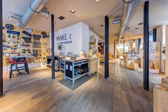 Make It Leroy Merlin Paris Makerspace Design Design Studio Office Interactive Design