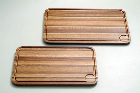 Cutting boards from IIBA 52 x 32 x 1,8 cm.