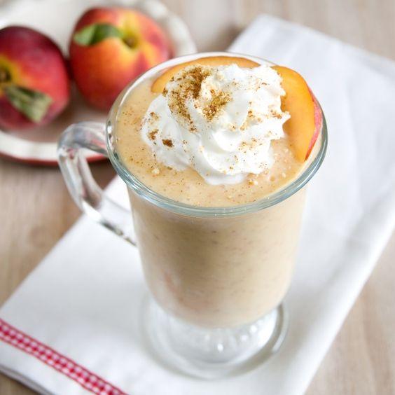Peach Cobbler Milkshake
