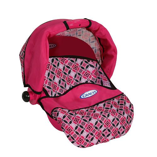 Graco 3 In 1 Doll Travel Seat Pink And Purple Color