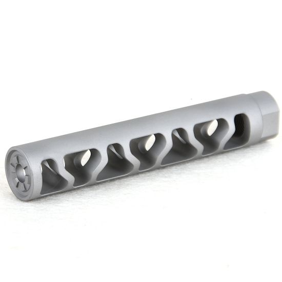 Stainless Steel 5//8x24 Thread 308 Short Competition Muzzle Brake W Crush Washer