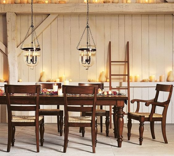 Formal Dining Room Candle Mantel Dream Home Designing