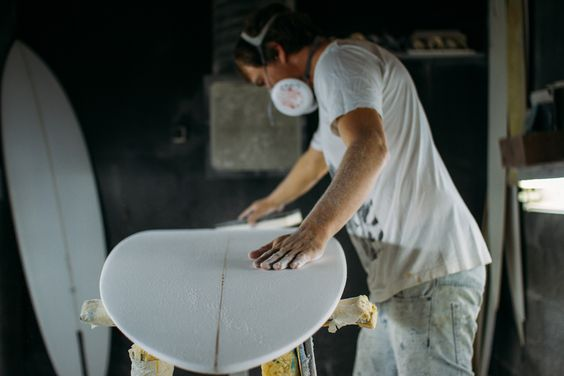 Co&Jo x Lucas Beaufort single fin surfboard. Shape by Blank Surfshack. Available soon on coandjo.com
